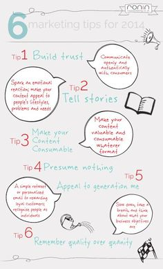 6 marketing tips for 2014
