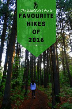 Favourite 2016 Hikes