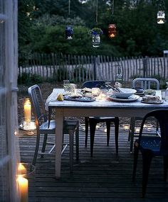 perfect for a summer evening bbq by the lake