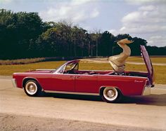 Vintage at its best. This 1961 Lincoln Continental Convertible.     The four-door convertible version was the first of its kind in the industry in a decade. Elegance, coupled with solid dependability, made it a classic symbol of luxury.