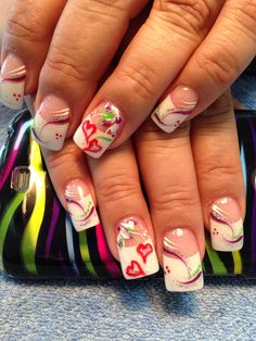Valentine's nails design