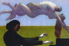 Chopin, by Lorenzo Mattotti