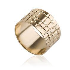 Unisex Wedding Ring 14k Gold , Wide Wedding Ring , His & Hers Gold Wedding Rings , Women Wedding Band , Pattern Wedding Ring