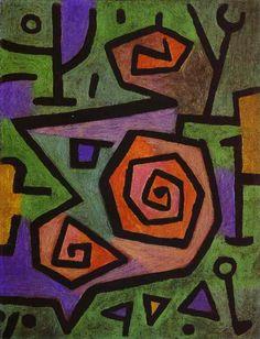 """Paul Klee """"Roses"""""""