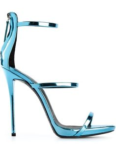 Shop Giuseppe Zanotti Design three strap sandals in Stefania Mode from the world's best independent boutiques at farfetch.com. Over 1000 designers from 300 boutiques in one website.