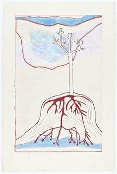 Louise Bourgeois, Ainu Tree I, state I, 1999.