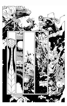 Amazing Spider Man 631 by TimTownsend on deviantART Comic Book Pages, Comic Book Artists, Comic Artist, Comic Books Art, Chris Bachalo, Example Of Comics, Comic Frame, Spiderman, Tracing Art