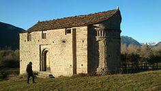 San Juan de Busa. Iglesias del Serrablo. Aragón