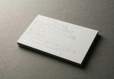 Business Card for Blanca Unzueta / Fashion stylist & consultant. 2010