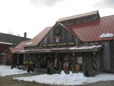 Visiting Rockingham, VT               (The Vermont Country Store)