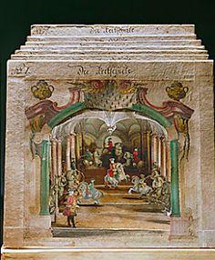 Paper theatre.