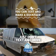Join the movement to end distracted driving. Take the pledge, spread the message, and become an advocate in your community today. Dont Text And Drive, It Can Wait, Distracted Driving, Duck Face, Text Me, First Love, Waiting, Join, Messages