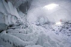 Ice Cave, Mount Erebus, Antarctica