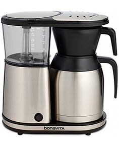 Shop for bonavita 8 cup coffee maker with thermal carafe at Bed Bath & Beyond. Buy top selling products like Bonavita® Thermal Carafe Coffee Brewer and Bonavita® 16 oz. Shop now! Great Coffee, Hot Coffee, Coffee Cups, Drink Coffee, Black Coffee, Coffee Beans, Carafe, Best Drip Coffee Maker, Coffee Maker Reviews
