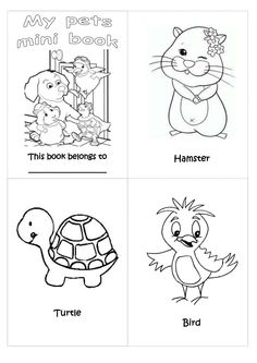 pets-mini-book-preschool by eraquelcq via Slideshare