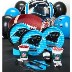 My daughter would love to have a Carolina+Panthers birthday party!