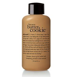 Yummy i so want to try this. Philosophy Skin Care, Philosophy Products, Victoria Secret Body Spray, Brown Butter Cookies, Bath And Body Works Perfume, Bath Gel, Glow Up Tips, Smell Good, Me Time