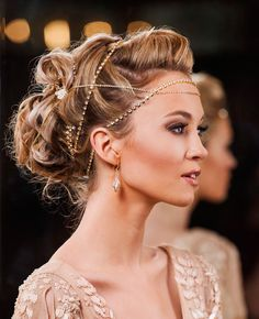 23 Exquisite Hair Adornments for Brides ~ we ♥ this! moncheribridals.com