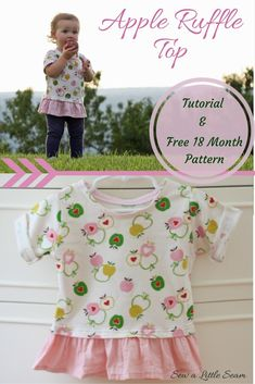 Ruffle Top Tutorial and Free Pattern