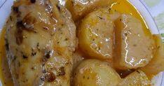 Ένα απλό κοτόπουλο μπορεί να γίνει πεντανόστιμο με αυτό το λάδολεμονο!!!   Υλικά 3 κ σούπας γιαούρτι στραγγιστό 2 κ σούπας κέτσαπ 2 κ σού... Chicken Wings, Meat, Dinner, Cakes, Food, Kitchens, Dining, Cake Makers, Food Dinners
