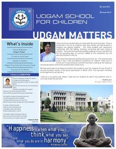 udgam-matters-newsletter-june-2013 by Manaan Choksi via Slideshare