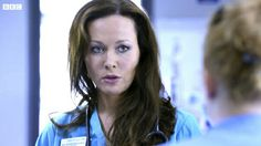 Connie Beauchamp, Amanda Mealing. (Casualty)