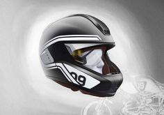 BMW Motorrad présente un prototype de casque avec affichage tête haute HUD