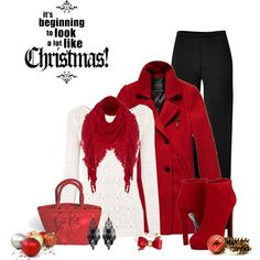Casual Christmas Party Outfits 2013/ 2014 | Polyvore Xmas Costumes...