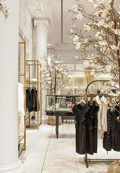 Club Monaco retail store| Daily Dream Decor