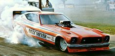 Billy Meyer's Mustang II bodied F/C, circa 1974