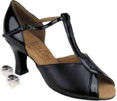 Very Fine Womens Salsa Ballroom Tango Dance Shoes Style S2804 Bundle with Plastic Dance Shoe Heel Protectors Black Leather 95 M US Heel 3 Inch ** Learn more by visiting the image link.