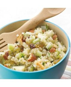 Quinoa Salad with Apples and Almonds from Spoonful