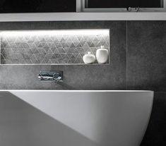 Functional Bathroom Design - (Shower, Basin, Bath & Toilet) - The Inside Project