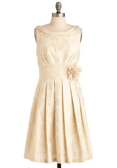 Please can I wear this to the military ball in February!?!?  Gilding Light Dress, #ModCloth