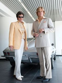 Matt Damon and Michael Douglas Strike a Pose in First Image From HBO's 'Behind the Candelabra' (Photo)