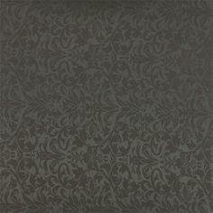 Jacquard grå barok - STOFF & STIL