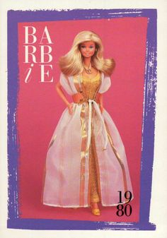 Barbie 21012. This card is quite nice, it is a little older and it is in decent shape ! Great for any Collector ! | eBay!