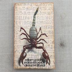 El dios escorpión #portadista #danielgil #diseño #santander #portadas #covers #sardinero