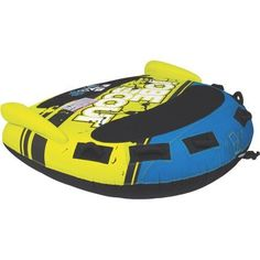Jobe 230315003 Scout 3 Person Deck Tube Inflatable Towable, Multicolor