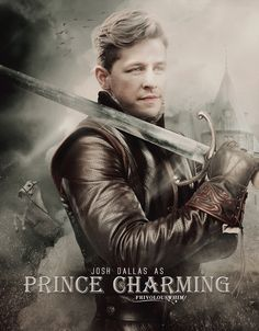 Fan made Prince Charming/David movie poster
