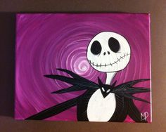 tribute to A Nightmare before Christmas Jack by MichaelHProsper, $29.00