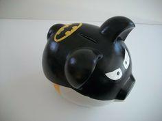 DIY Batman Piggy Bank