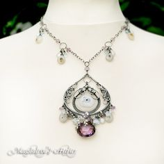 The NOUVELLE LUNE Necklace - Dreamy Drama Necklace | Flickr - Photo Sharing!