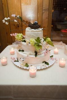 One of the Wedding Cakes I made.| 3rd Story Bake Shop
