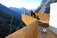 Romsdalen - Geiranger Fjord, Norway  Trollstigen National Tourist Route Project  REIULF RAMSTAD ARCHITECTS