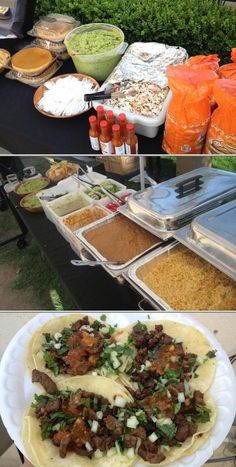 Taco Cart Catering provides authentic Mexican taco catering for 25 to 500 guests. They provide 3 meats, rice, beans, various salsas, grilled jalapenos and onions, homemade guacamole, and more. Read more on our website and get a free quote.