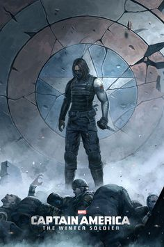 Awesome fanart photo of Bucky the winter soldier