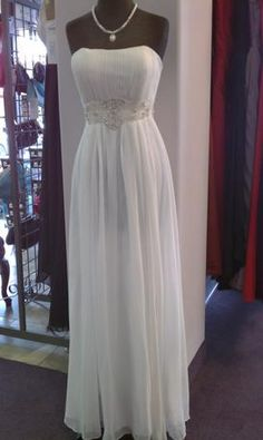 I just bought this :) Simple, yet elegant wedding dress.