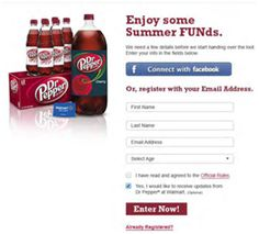 Win a chunk of the #SummerFUNd in the Dr Pepper® Summer FUNd Giveaway!  #ad