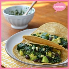 Easy Dinner Recipe: Kale and Black Bean Tacos with Chimichurri — Recipes from The Kitchn